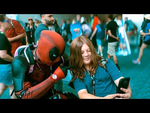 Deadpool At Comic-Con Part: 1