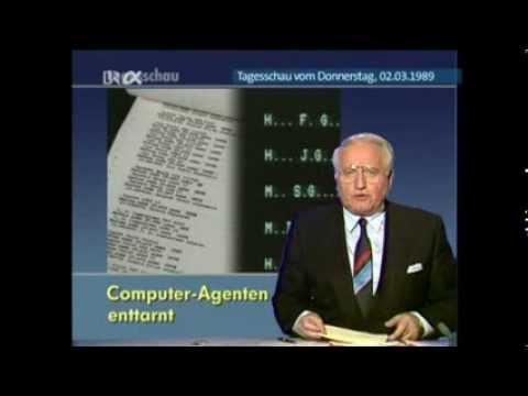 Vor 25 Jahren: Deutsche Computer-Hacker als KGB-Spitzel enttarnt !! [TAGESSCHAU vom 02.03.1989]