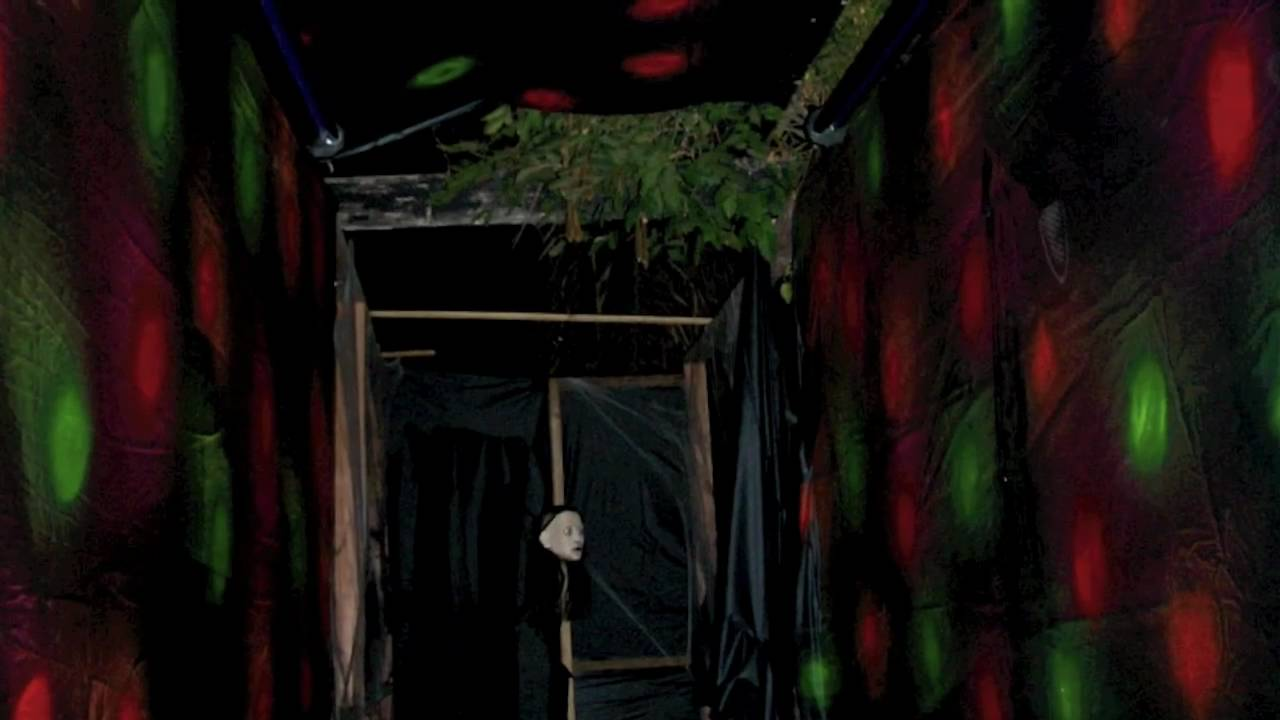 Halloween Haunted house - YouTube