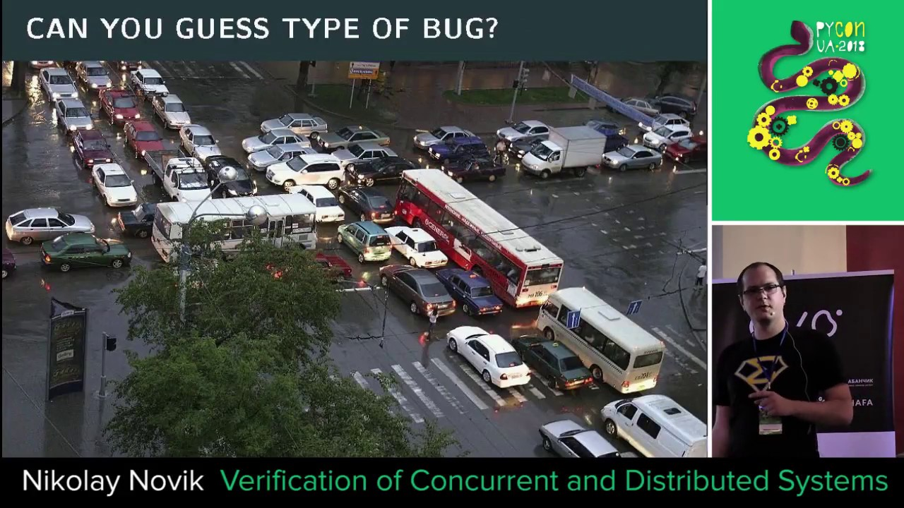 Image from Verification of Concurrent and Distributed Systems