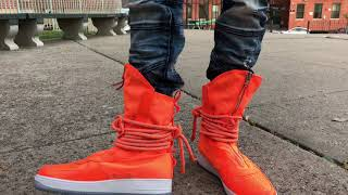 Nike Air Force 1 Special Field High On Feet Review