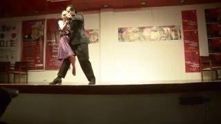 Cecilia Lofredo y Yecid Murillo