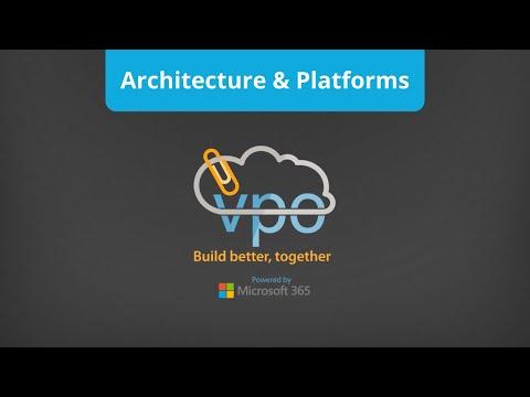 Architecture & Platforms   VPO Construction Project Management Software