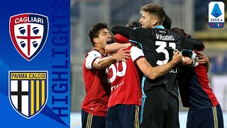 Cagliari 4-3 Parma | Last Second Winner in Seven-Goal Thriller! | Serie A TIM