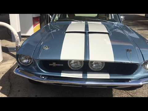 1967 Shelby GT500 Brittany Blue