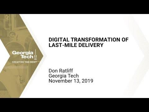 Digital Transformation of Last-Mile Delivery