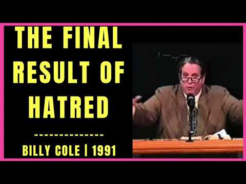 The Final Result of Hatred by Billy Cole 1991