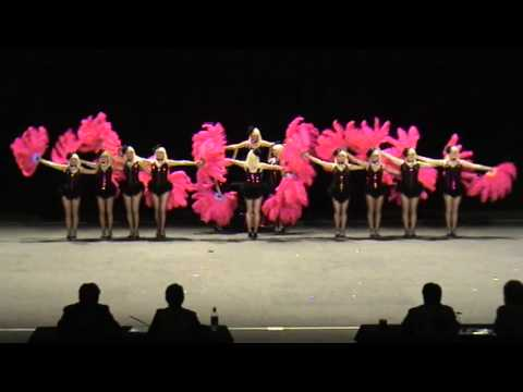 2012 Australian Drill Dance Championships - Senior 1st Place Prop Precision - Black Diamonds