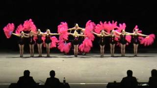 2012 Australian Drill Dance Championships - Senior 1st Place Prop Precision - Black Diamonds