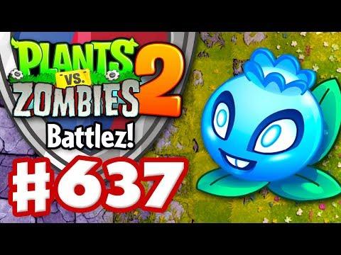 BATTLEZ! Electric Blueberry Epic Quest! - Plants vs. Zombies 2 - Gameplay Walkthrough Part 637