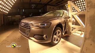 NEW Audi A6 Crash Test Euro Ncap