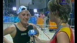 ATENAS 2004 NATACION-Georgina Bardach (Arg) Bronce en 400 Medley