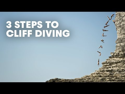 3 Steps of a Cliff Dive - Orlando Duque Colombia 2012
