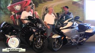 Two Victory Riders Buy Sport Touring Bikes - BMW K 1600 GTL and Kawasaki Concours 14