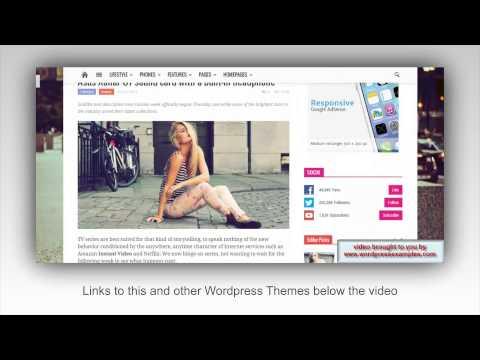 Newspaper WordPress Theme – WP Theme Newspaper Demo