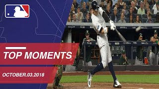 Top 10 Moments of the AL Wild Card: October 3, 2018