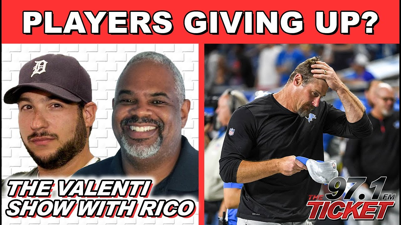 The Valenti Show w/ Rico - Dan Campbell's Emotion May Cost Him