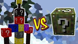 BOSS LUCKY BLOCK VS . LUCKY BLOCK CAMO (MINECRAFT LUCKY BLOCK CHALLENGE)