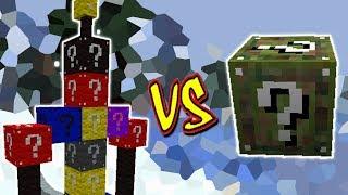 BOSS LUCKY BLOCK VS . LUCKY BLOCK CAMO (MINECRAFT LUCKY BLOCK CHALLENGE)