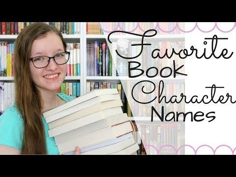 Favorite Book Character Names