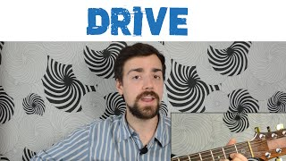 """Drive"" by Incubus - Easy Guitar Version"