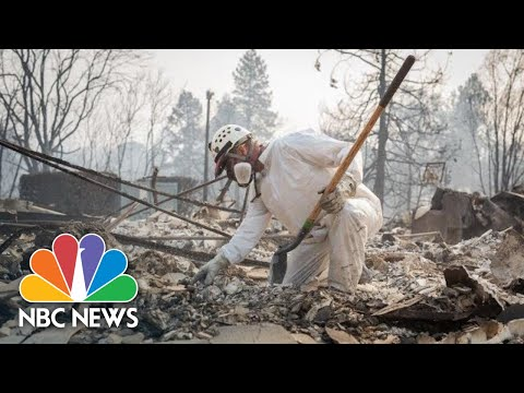 After California Wildfires, Families in Paradise Continue Desperate Search for Missing | NBC News