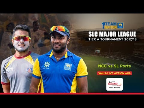 NCC vs SL Ports Authority - SLC Major League Tier A Tournament - Day 1
