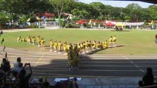 Yellow house Cheerleading of 2013 ( SJK (c) Chung Hwa Likas )