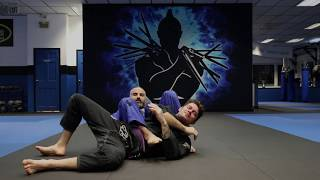 Knee on Belly - Bow and Arrow Choke