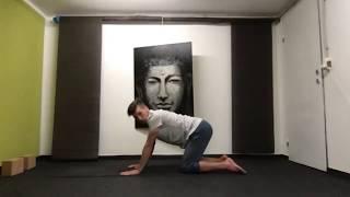 Finde deinen inneren, friedvollen Krieger! Yoga für eine gute Tiefenmuskulatur!