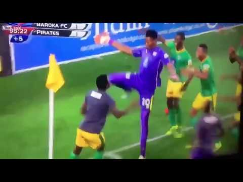 African football. amazing skills, tricks and fights