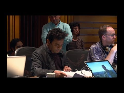 AR Rahman composing Live At his Studio