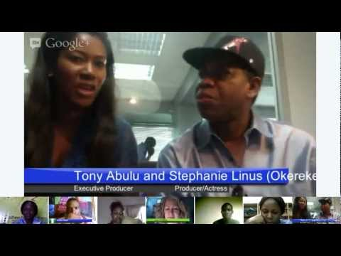 Afrinolly MasterClass Hangout with Tony Abulu and Stephanie Okereke Linus