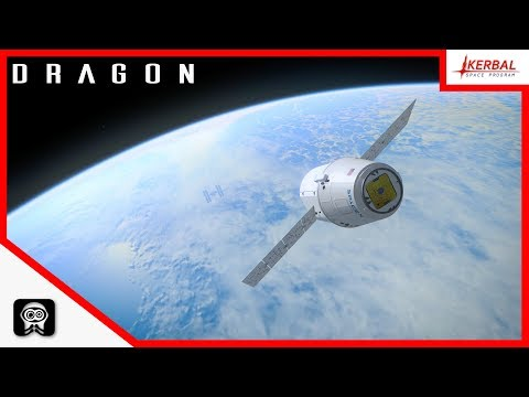 Kerbal Space Program | SpaceX Dragon [P1]
