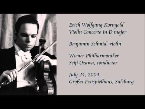 Korngold: Violin Concerto in D major - Schmid / Ozawa / Wiener Philharmoniker
