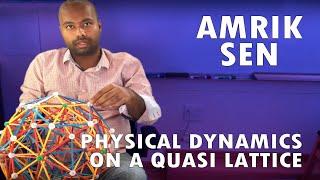 Physical Dynamics on a Quasi Lattice
