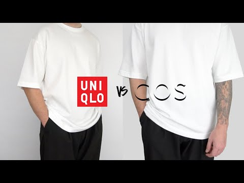 UNIQLO vs COS | Best Oversized T-Shirt | Men's Fashion