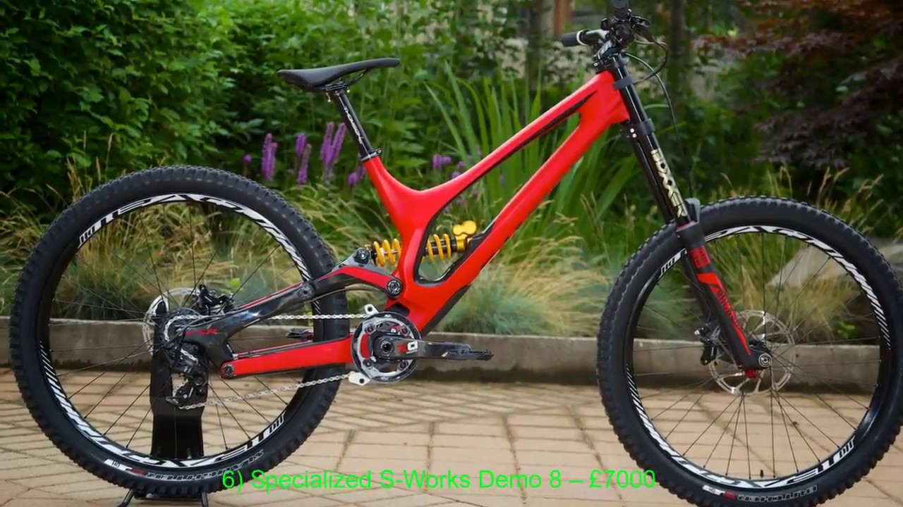5ba3f78ac86 THE 10 MOST EXPENSIVE DOWNHILL BIKES - YouTube