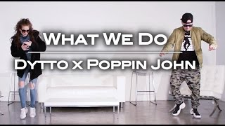 What We Do | Dytto x Poppin John