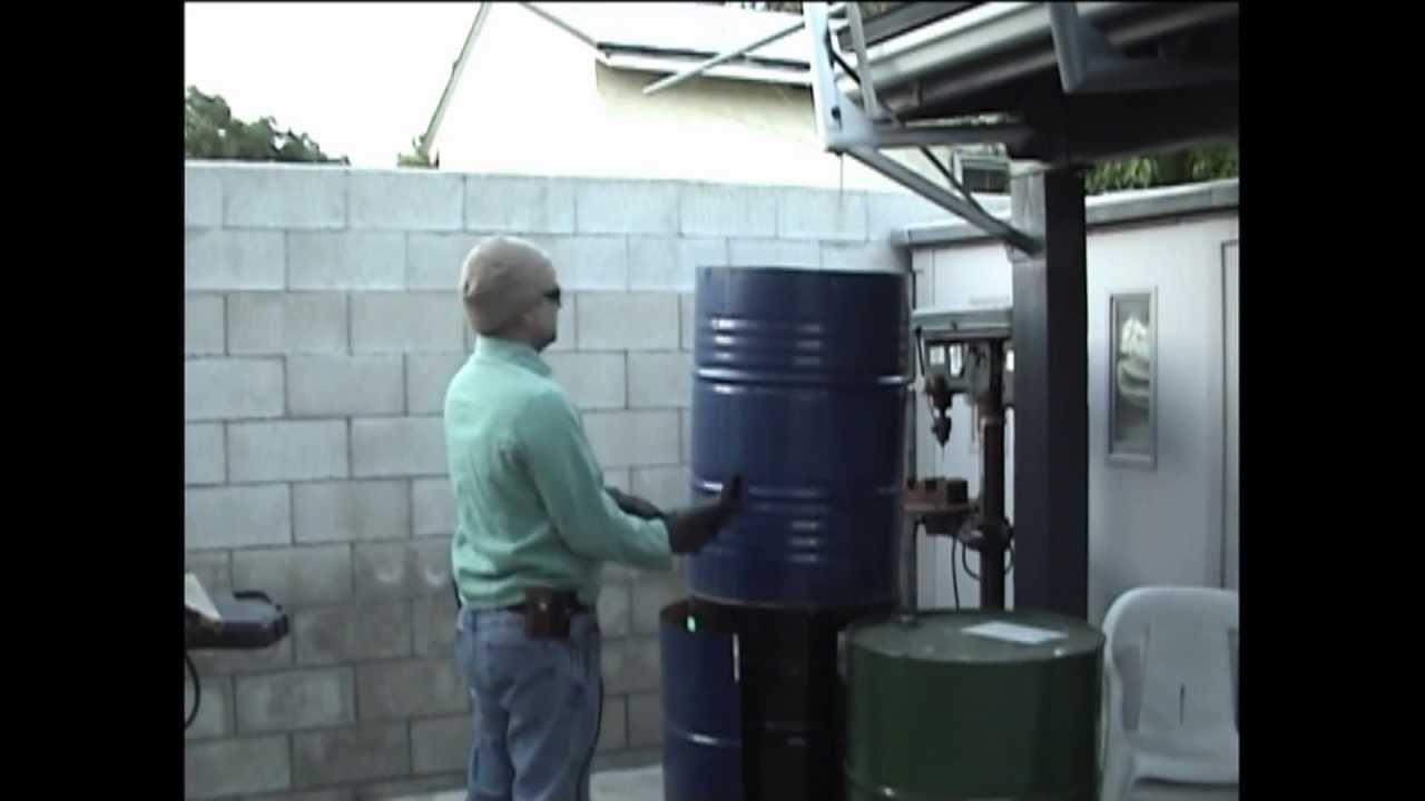 Como Hacer Carbon Vegetal Minima Contaminacion 1 Doble Barrel Retort Biochar