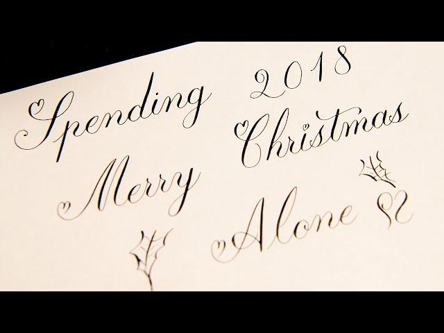 4K ASMR Spending Merry Christmas Alone 2018