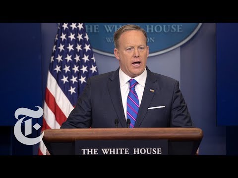 Sean Spicer Resigns: Notable Moments From His Press Briefings | The New York Times