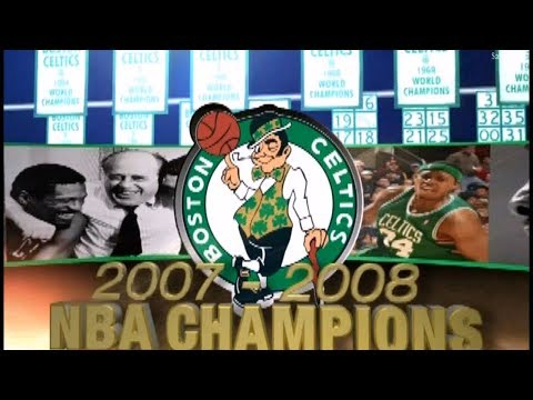Boston Celtics - 2007-2008 NBA Champions