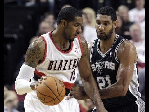 Portland Trailblazers vs San Antonio Spurs 2014 NBA Playoffs