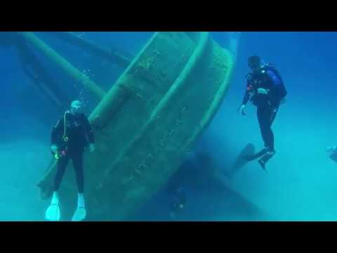 Grand Cayman 2018 | Grand Cayman USS Kittiwake part 1