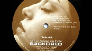 MASTERS AT WORK feat. INDIA - Backfired (Main MAW Mix).wmv