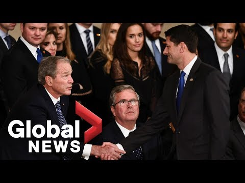 Paul Ryan remembers President George H.W. Bush at Capitol ceremony