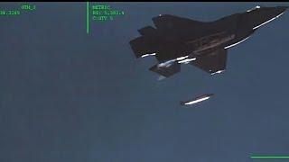 Pela primeira vez F-35 faz lançamento de uma bomba nuclear de seu compartimento interno
