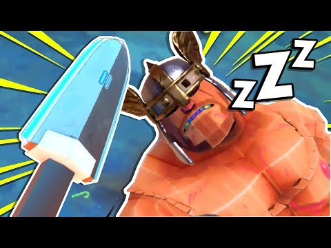 *NEW* CYBER-SWORD MAKES GLADIATORS DRUNK AND SLEEP! 😴 | Gorn VR Mods HTC Vive Gameplay