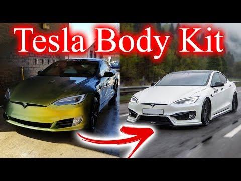 Tesla Body Kit  It's Happening